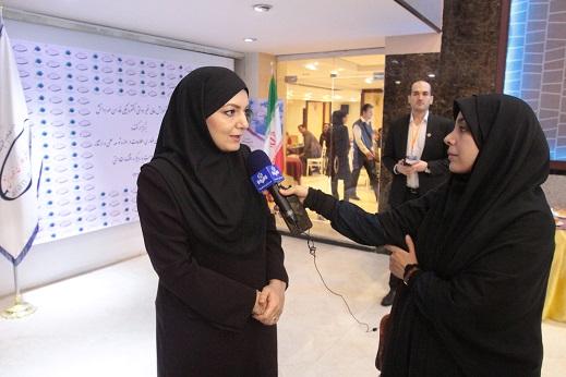 مصاحبه با خانم دکتر شیرین عیانی ( دبیر اجرایی همایش)