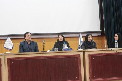 سخنرانان پنل تخصصی دوم (دکتر فرحناز صدوقی-دکتر مریم جهانبخش-دکتر زهرا مستانه-دکتر حمید مقدسی)